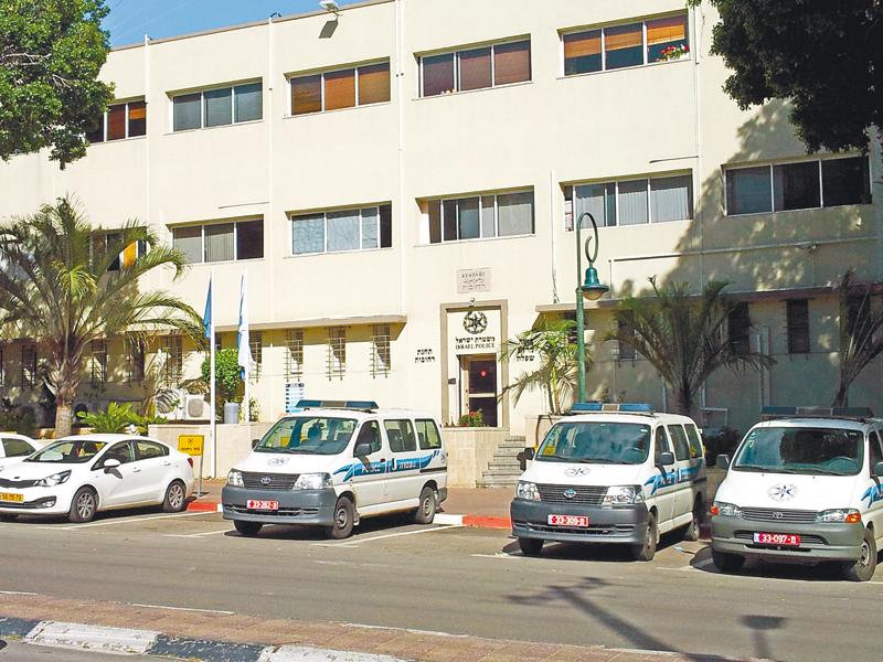 משטרת רחובות (צילום: אלעד חיימוביץ')
