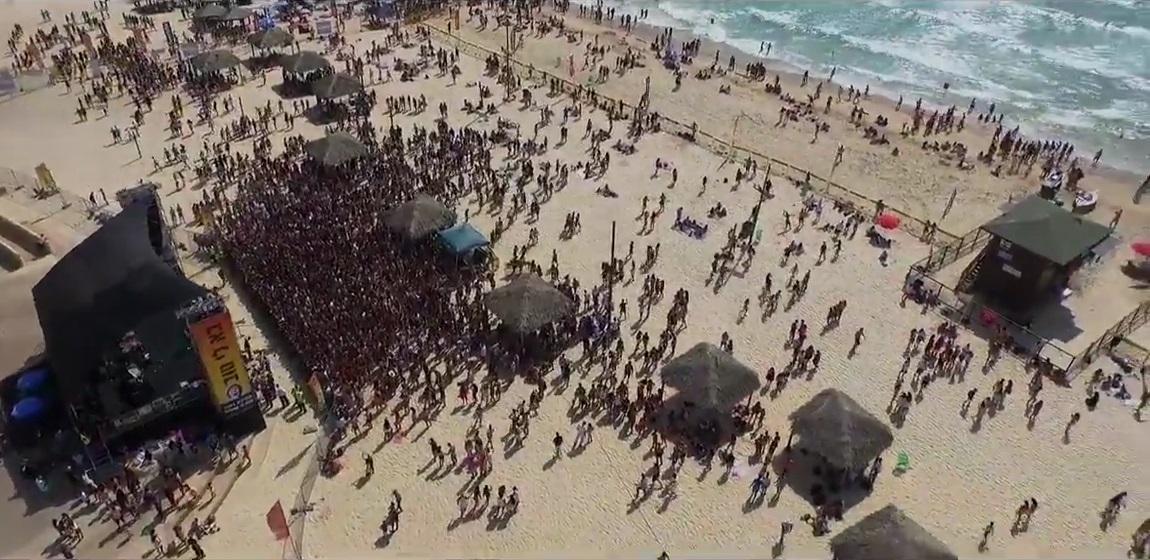 מסיבת חוף בראשון לציון