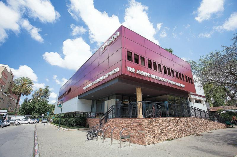 הספרייה העירונית רחובות (צילום: ג'ני גפטרשוסטר)