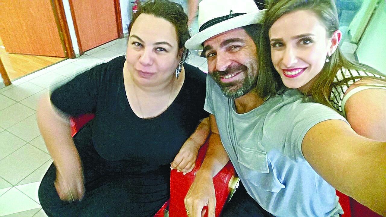 רותם כהן ואמירה בוזגלו