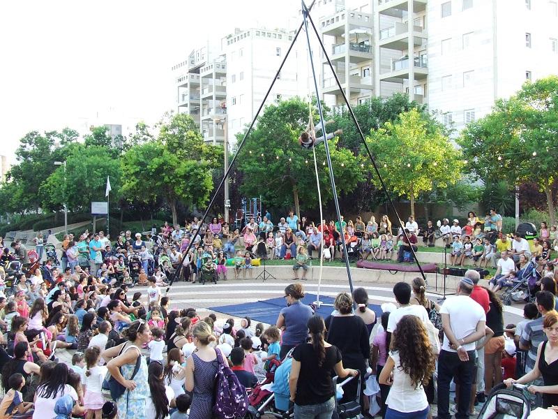 ארועי קיץ בשכונות