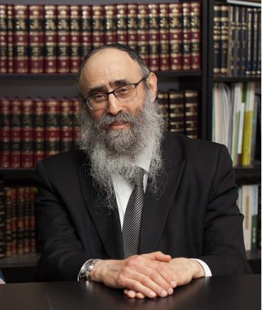 הרב מנחם מענדל גלוכובסקי (צילום: ג'ני גפטרשוסטר)