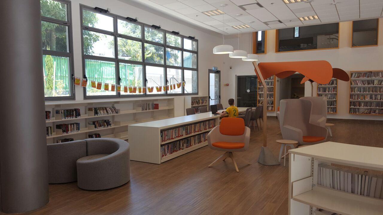 חדר עיון בספריה המרכזית