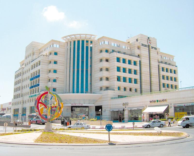 הכיכר בקניון רחובות (צילום: אסף לוי)