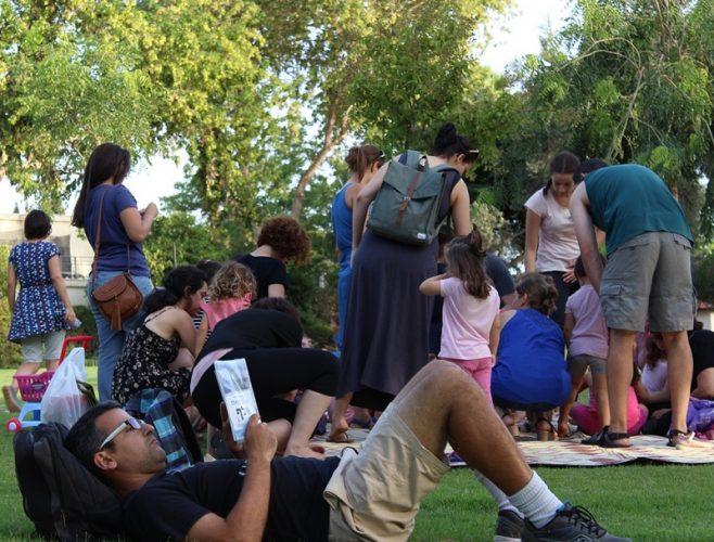 אירועי הקיץ סמוך לספריות הרחוב