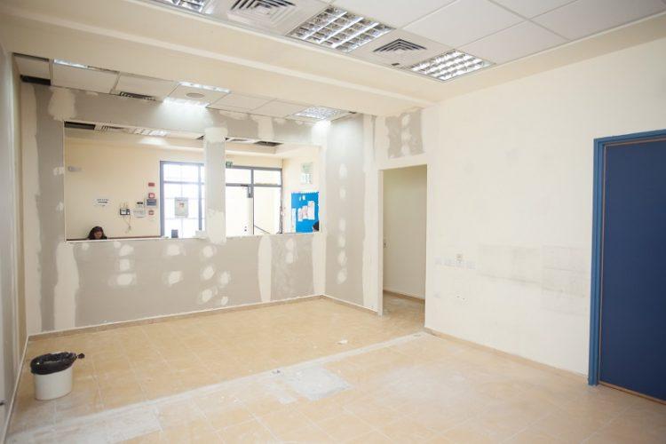משרדים שיהפכו לג'ימבורי (צילום: רון אוריאל)
