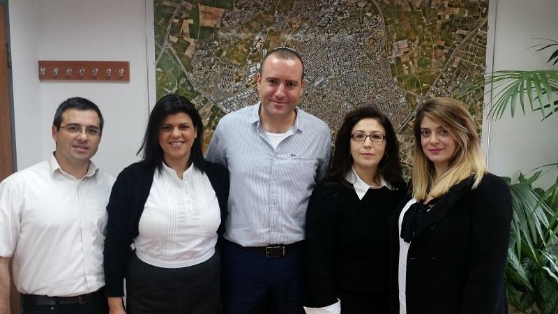 מתן דיל ועורכי הדין המשתתפים בפרויקט הסיוע המשפטי