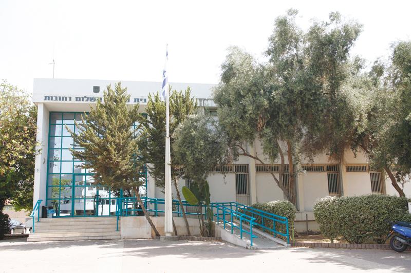 בית משפט השלום ברחובות (צילום: ניר שמול)