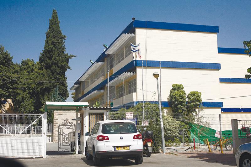 בית הספר קציר (צילום: ניר שמול)