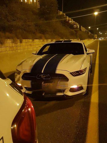 """המכונית שנתפסה במהירות 192 קמ""""ש"""
