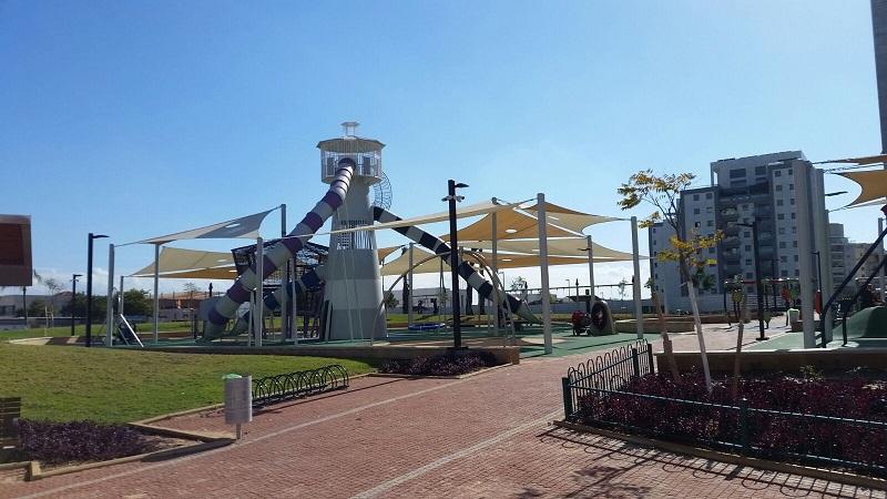 פארק רחובות המדע (צילום: אלעד חיימוביץ')
