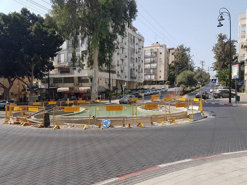 הכיכר בפינת הרחובות גורודיסקי, יעקב ומנוחה ונחלה