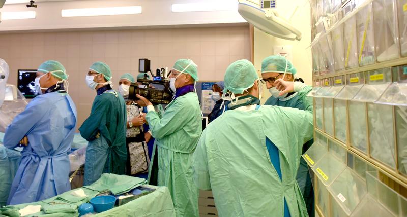 הצצה לתוך הלב בקפלן (צילום: אפרת שררה, בית החולים קפלן)