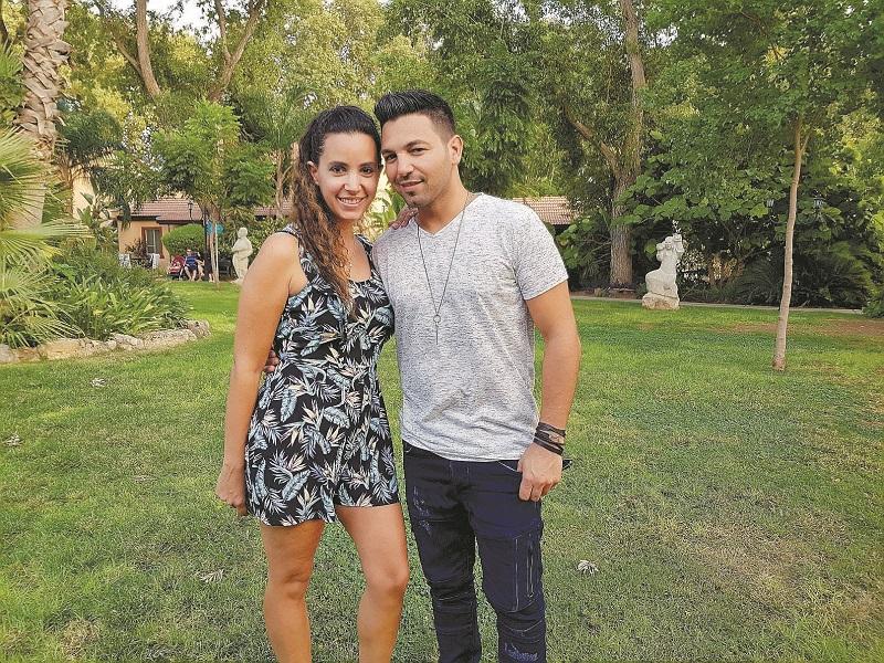 הראל מויאל ואשתו (צילום: הגושרים מלון בטבע)
