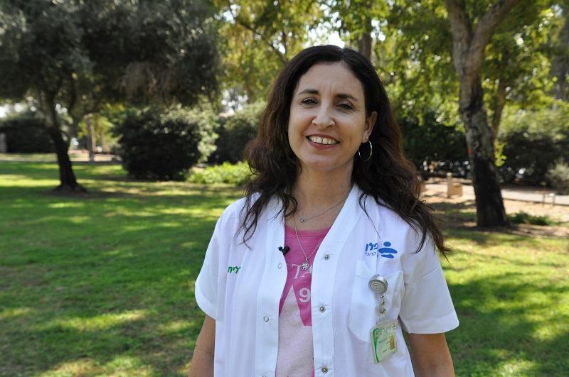 """ד""""ר איילת גלעדי (צילום: אפרת שררה, בית החולים קפלן)"""