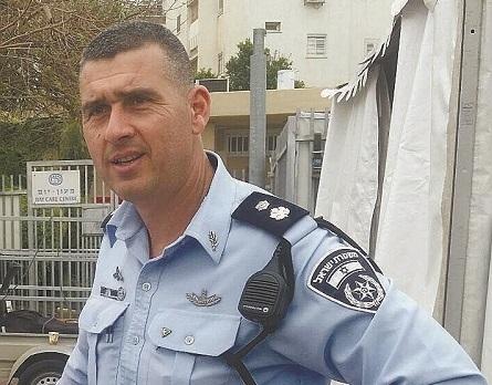 שרון מנור מפקד משטרת רחובות