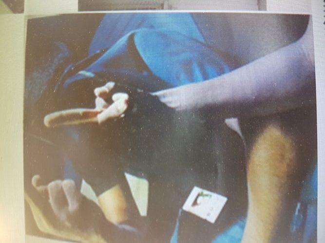 האצבע המשלושלת שעזרה להפליל את כנופיית הגנבים