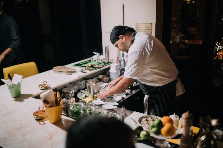 השף אסף שטרן מסעדת אברטו (צילום: גל זהבי)
