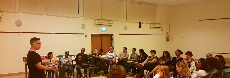 מפגש הכשרה של סיירת ההורים העירונית