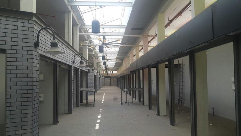 השוק העירוני החדש - מבט מבפנים (צילום: רותי ורד)