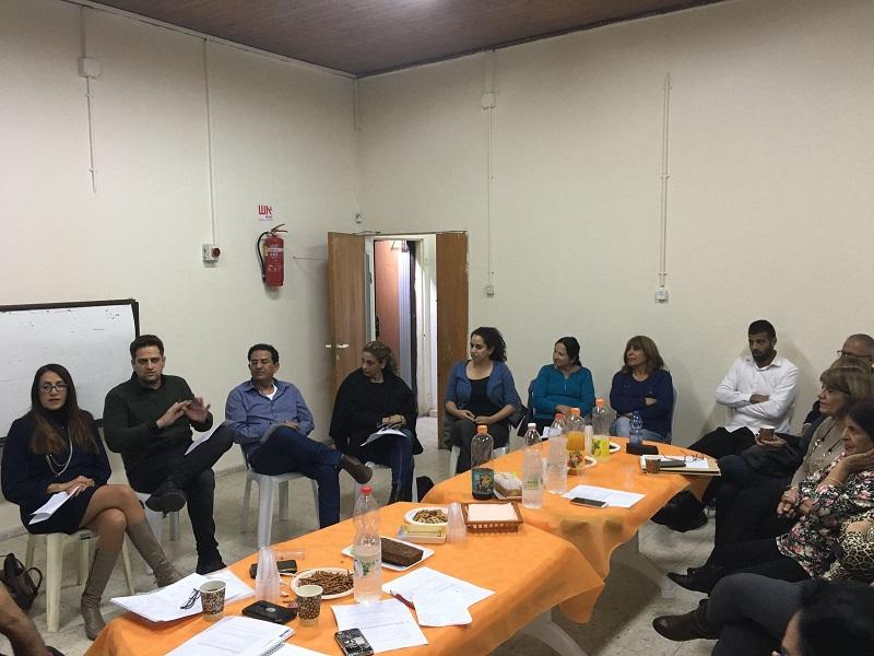 מפגש נציגי רשת חוויות עם תושבי מרמורק