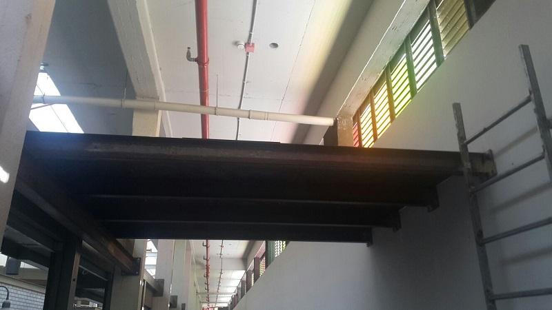 מתקן אחסון עילי בשוק העירוני החדש (צילום: רותי ורד)