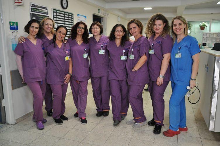 צוות מיילדות חדר הלידה בקפלן