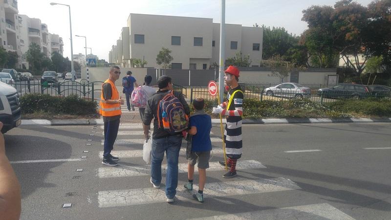 שבוע בטיחות בדרכים ברחובות