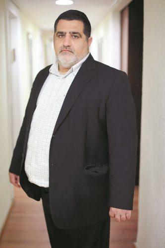 עורך הדין צדוק חוגי (צילום: דניאל בר און)