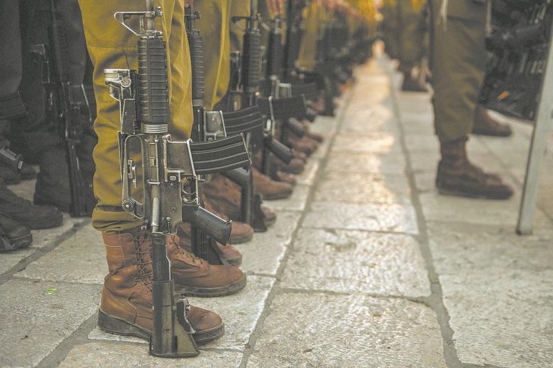 """חיילים (צילום אילוסטרציה: דובר צה""""ל)"""