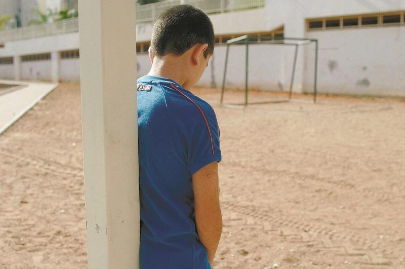 ילד שעבר התעללות (צילום אילוסטרציה: ניר שמול)