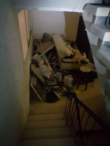 המטרד שנוצר בעקבות השיפוץ בדירה ברחוב ביאליק