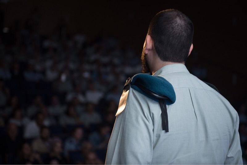 """רב סרן גיא (צילום: דובר צה""""ל)"""