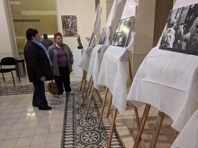התערוכה שליוותה את ערב ההצדעה לניצולי השואה