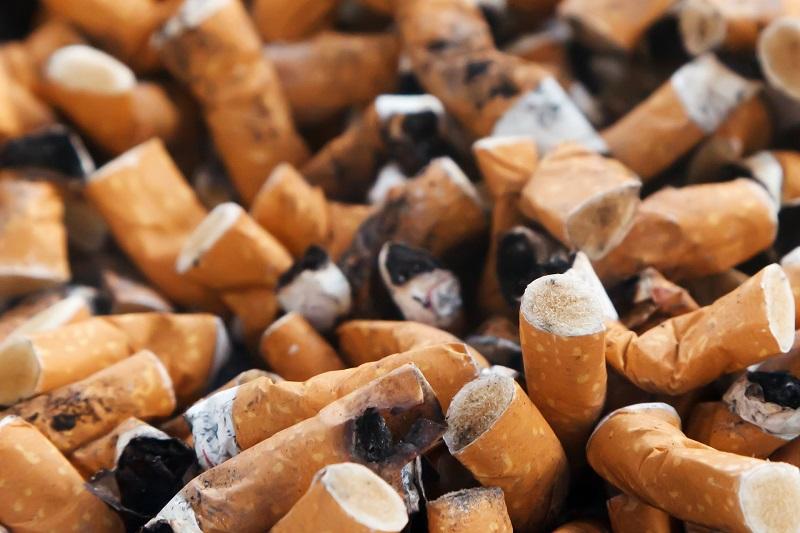 בדלי סיגריות