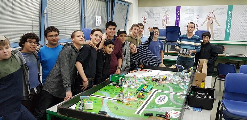 הפנינג ההכנה לתחרות הרובוטיקה