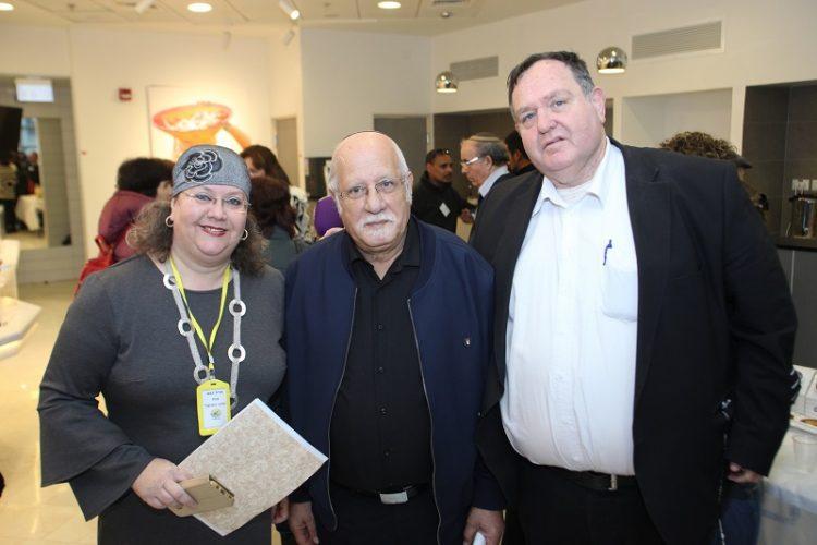 מימין: אבי מוזס, בנצי שרעבי ואורית דבש