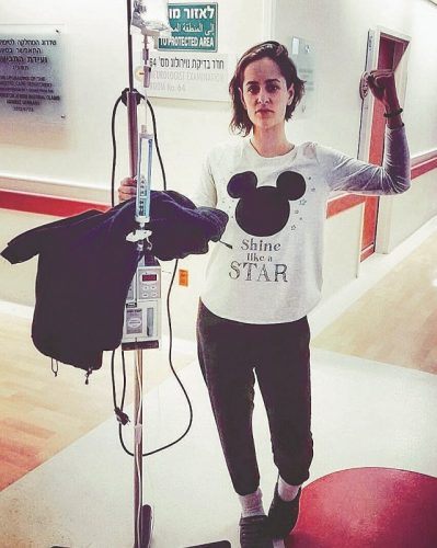 אלישבע קמפלר בבית החולים