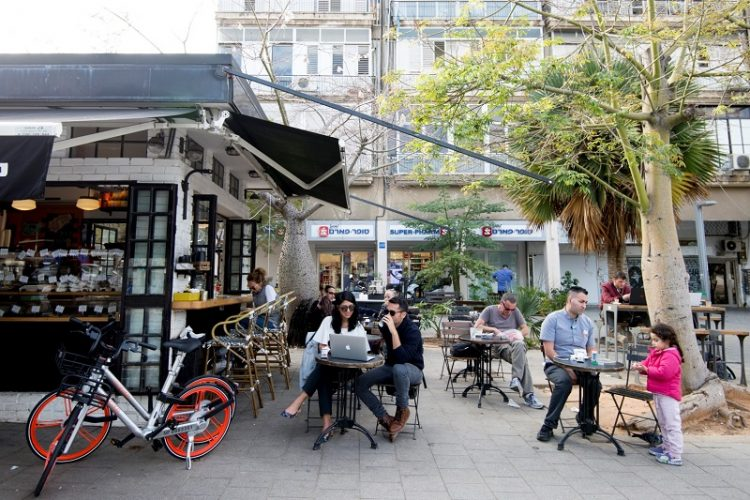 Mobike (צילום: יעל אמיר)