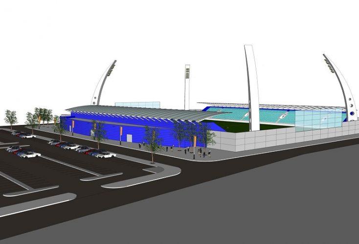 הדמיית האיצטדיון העירוני ברחובות