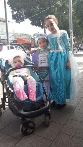 אודליה, אוריאל ומיכאל