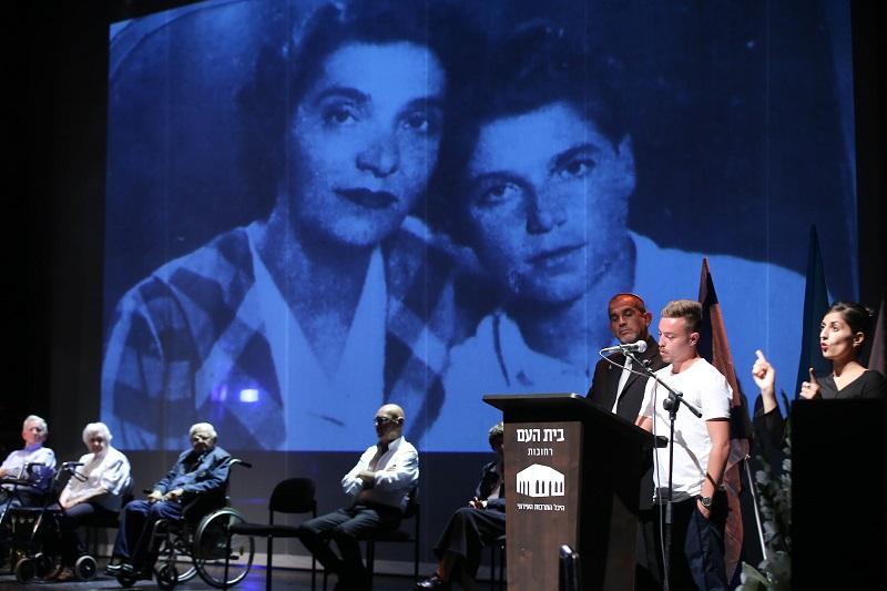 אירועי יום הזיכרון לשואה ולגבורה בשנה החולפת