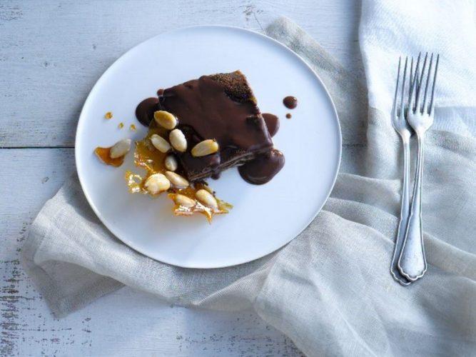 לזניית שוקולד (צילום: רונן מנגן)