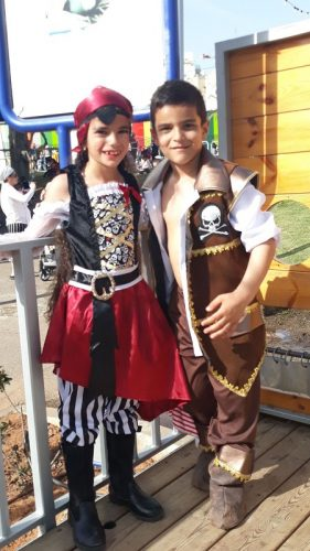 נהוראי ומוריה מבית הספר הרצוג