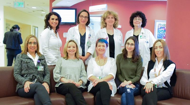צוות מכון השד בקפלן (צילום: אפרת שררה, בית החולים קפלן)