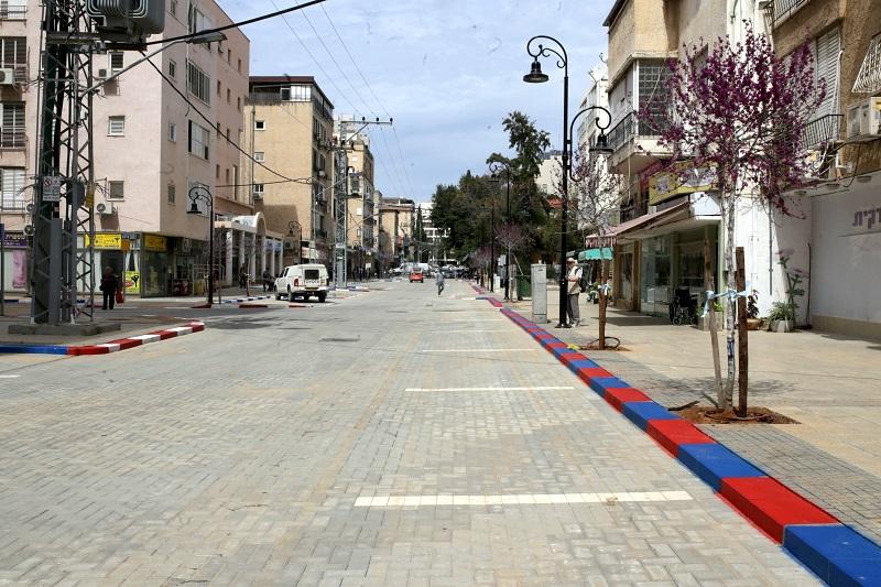 רחוב אחד העם המחודש