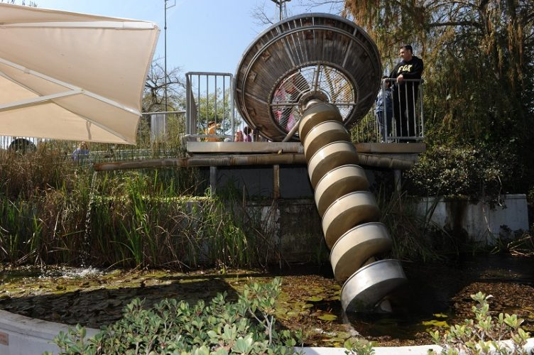 גן המדע על שם קלור במכון ויצמן (צילום: איציק אמיתי)