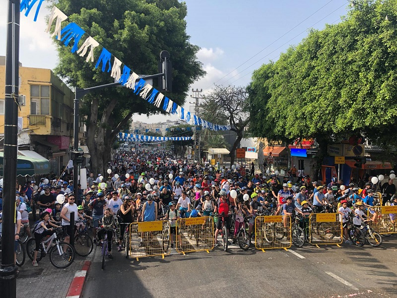 """מסע האופניים """"רוכבים עצמאות"""""""
