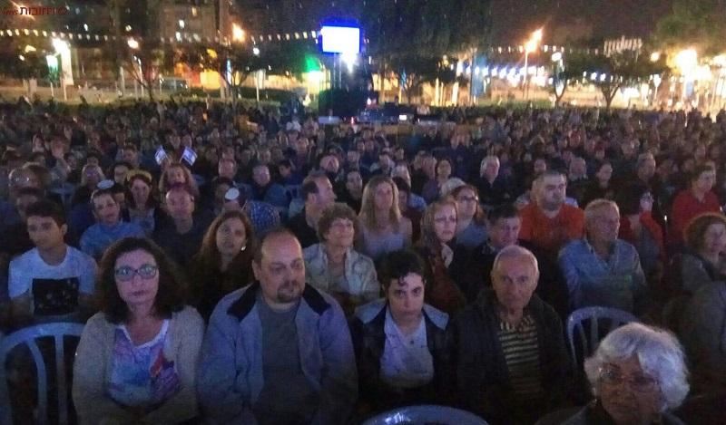 הקהל הרב בגן המייסדים
