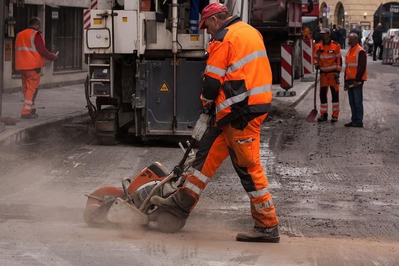 עבודות בכביש (צילום אילוסטרציה)